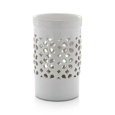 Fleur Hurricane Candle Holder - Crate and Barrel
