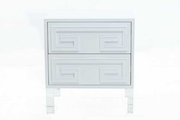 Athenian Side Table in High Gloss Lacquer - modshop