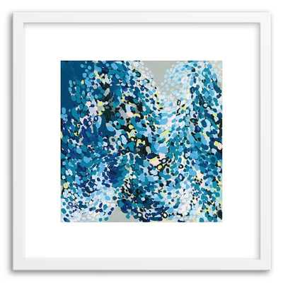 Minted for west elm - Dance In Blue - West Elm