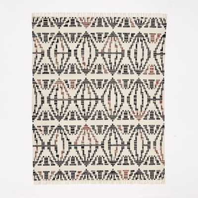Geometric Steps Kilim Rug - West Elm