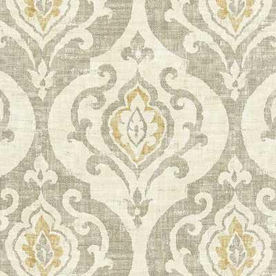 "Arryanna Taupe Fabric by the Yard - ""Swatch"" - Ballard Designs"