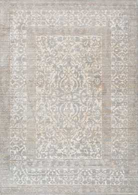 Silky Road AS12 Vintage Persian Border Rug - Rugs USA