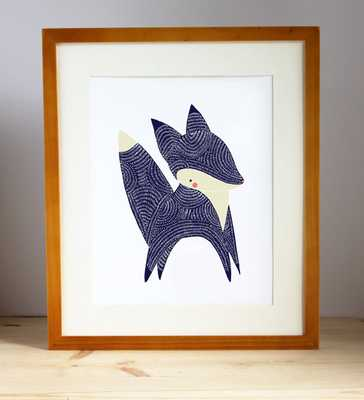 January Little Fox Print - unframed - Etsy
