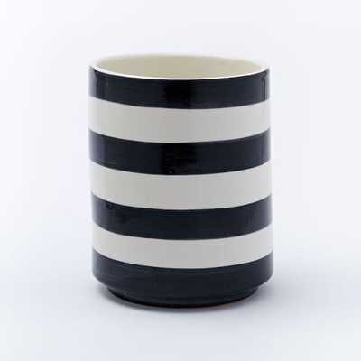 "Striped Cache Pots - 6"" - West Elm"