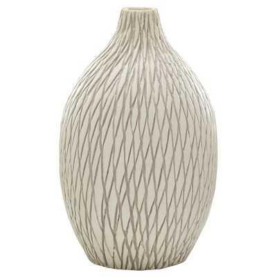 Threshold Cream Ceramic Vase - Medium - Target