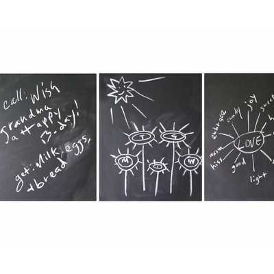 Chalkboard Wall Decal - Set of 3 - Wayfair