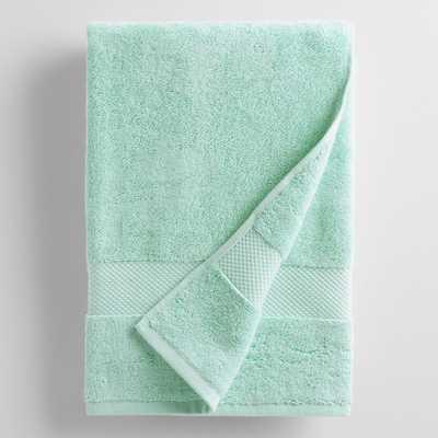Aqua Mist Bath Towel - World Market/Cost Plus
