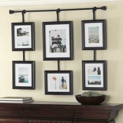 Wall Solutions Rod and Frame Set - Bed Bath & Beyond