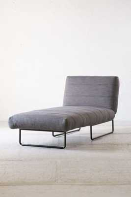 Oliver Sleeper Chaise - Grey - Urban Outfitters