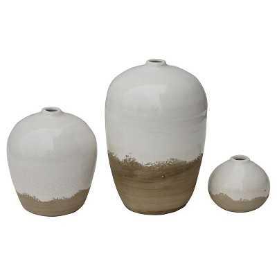 Terra Cotta Vases set of 3 - Target