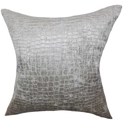 Jensine Solid Down Filled Throw Pillow - Overstock
