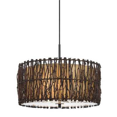 Winnett 2 Light Drum Pendant - AllModern