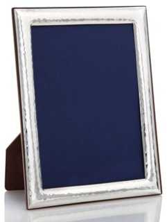 Sterling Deco Hammered Frame, 5x7 - One Kings Lane