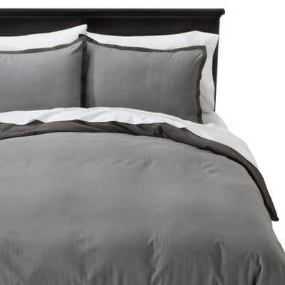 "Thresholdâ""¢ Washed Linen Duvet Set - Target"
