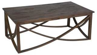 Lila Coffee Table, Mahogany - One Kings Lane