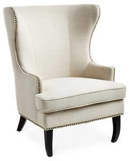 Addison Wingback Chair - One Kings Lane
