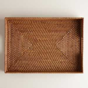Rattan Tray, Honey - World Market/Cost Plus
