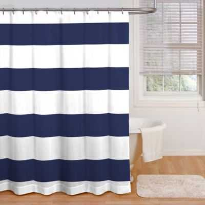 Chase Cabana Stripe Shower Curtain - Bed Bath & Beyond