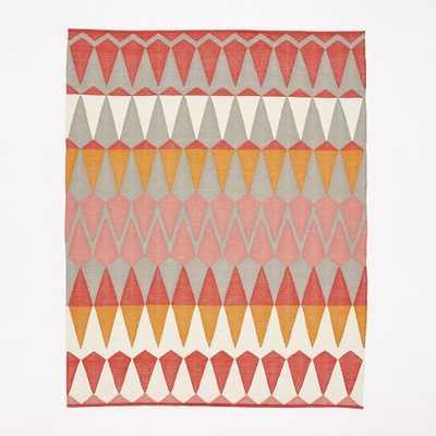 Margo Selby Zigzag Stripe Kilim Rug - 9x12 - West Elm