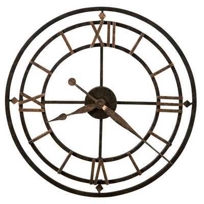 "Howard Miller Designer Choice York Station 21.25"" Wall Clock - Wayfair"