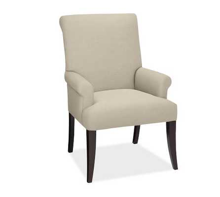 PB Comfort Roll Upholstered Chair - Quick Ship - Pottery Barn