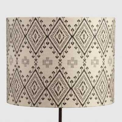 Tribal Drum Table Lamp Shade - World Market/Cost Plus