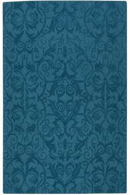BELLA AREA RUG - TEAL - 8' x 11' - Home Decorators