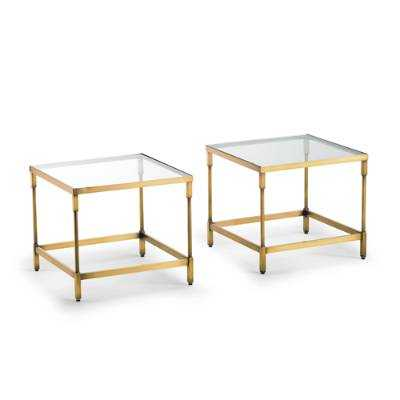 Pierce Nesting End Tables, Set of Two - Frontgate