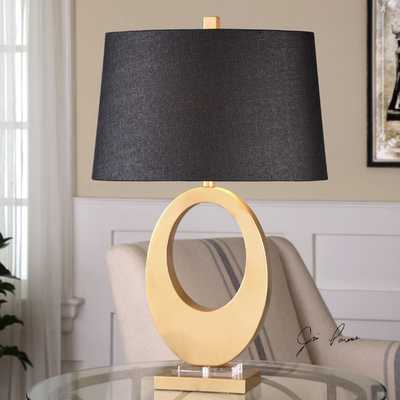"""Cadore 28"""" H Table Lamp with Empire Shade - Lamps Plus"""