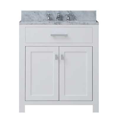 """Madison 30"""" Single Bathroom Vanity Set - Wayfair"""