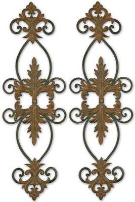 LACOLE METAL WALL ART - SET OF 2 - Home Decorators