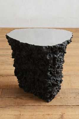 Lava Stone Side Table - Anthropologie