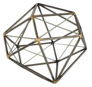 "11"" Gem Geodesic Figurine - One Kings Lane"
