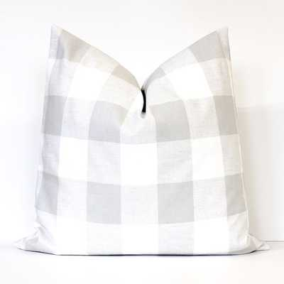Check Designer Pillow Cover - 19x19 - No Insert - Etsy