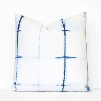 Shibori Decorative Pillow Cover - 19x19 - No Insert - Etsy
