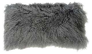 Tibetan Lamb Fur Pillow - One Kings Lane