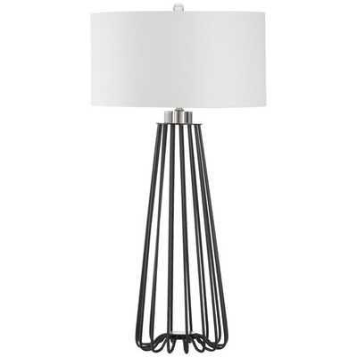 """Estill 33"""" Table Lamp with Drum Shade - AllModern"""