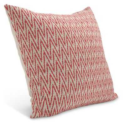 Terra Pillows - Red - 24x24 - With Insert - Room & Board