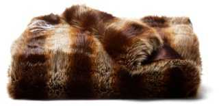 Faux-Fur Throw - One Kings Lane