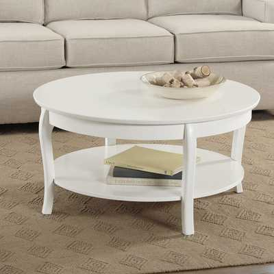 Alberts Round Coffee Table - Birch Lane