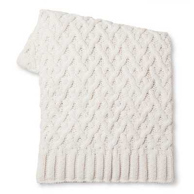"Thresholdâ""¢ Chunky Chenille Throw - Target"