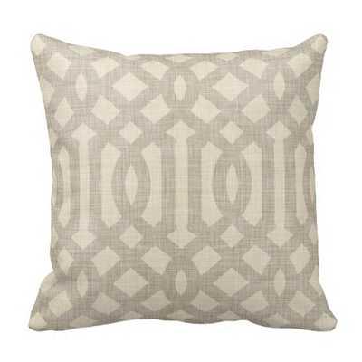 Your Custom Grade A Cotton Throw Pillow 16x16 - zazzle.com