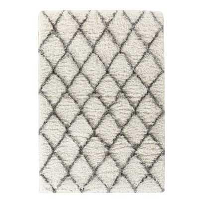 Gretta Ivory & Gray Area Rug - Wayfair