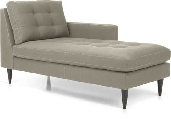 Petrie Right Arm Chaise Lounge - Crate and Barrel