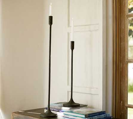 Grand Standing Taper Candle Holder - Large - Pottery Barn