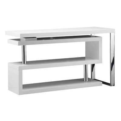 Santoni Writting Desk with Rotating Shelving - Wayfair