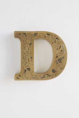 Acid Etched Letter D - Urban Outfitters