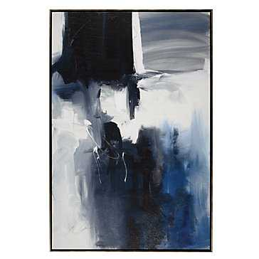 Le Mur - 41.25''W x 61.25''H - Framed (Champagne) - Z Gallerie