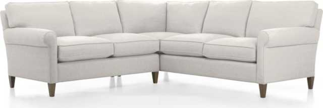 Montclair 2-Piece Sectional Sofa - Crate and Barrel