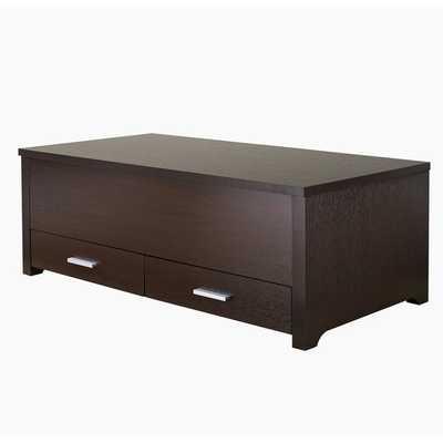 Furniture of America Knox Dark Espresso Storage Box Coffee Table - Overstock
